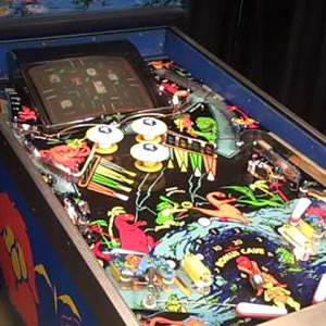 Gottlieb Caveman Arcade Pinball