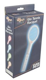 A4T Glo 4 Fun: Wii Tennis Racquet - Orange (Wii) [Nintendo Wii]