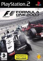 Formula One 2003 (PS2) [PlayStation2]