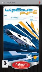 WipEout Pure - Platinum Edition (PSP) [Sony PSP]