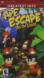 Ape Escape: On the Loose / Game [Sony PSP]