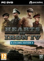 Hearts of Iron IV: Colonel Edition (PC DVD)