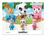 3 Pack (Reese + K.K. Slider + Cyrus) amiibo - Animal Crossing Collection (Nintendo Wii U/3DS)