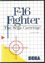 F16 Fighter - Master System - PAL