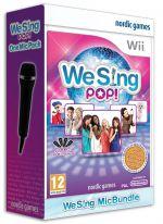 We Sing Pop Plus One Mic (Nintendo Wii/Wii U)