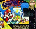 Mario paint mouse box - Super Nintendo - US