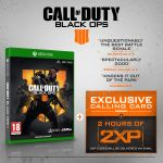 Call of Duty®: Black Ops 4 with 2 Hours of 2XP + Exclusive Calling Card [Exclusive to Amazon.co.uk]
