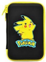 Pikachu Hard Pouch (Black) (Nintendo 3DS)