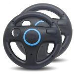 2x Steering Racing Wheel for Nintendo Wii - Black