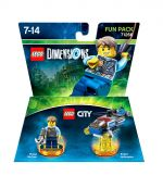 LEGO Dimensions - City Fun Pack (Electronic Games)