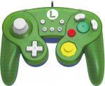 Official Nintendo Licensed Smash Bros Gamecube Style Controller for Nintendo Switch Luigi Version (Nintendo Switch)