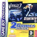 2 Games Inside: V-Rally 3 + Stuntman