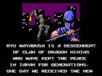 Ninja Gaiden for Master System