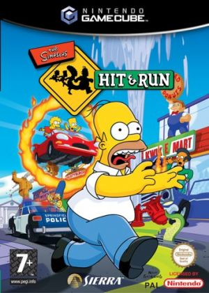 Simpsons Hit and Run for GameCube