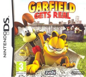 Garfield Gets Real for Nintendo DS
