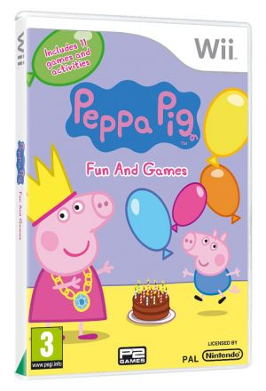 Peppa Pig 2 - Fun and Games for Wii