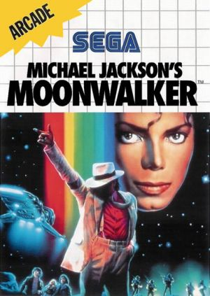 Michael Jackson's Moonwalker for Master System