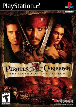 Pirates of the Caribbean: The Legend of Jack Sparrow for PlayStation 2