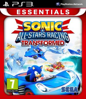 Sonic and All Stars Racing Transformed: Essentials [PlayStation 3] for PlayStation 3
