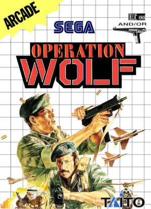 Operation Wolf for Master System