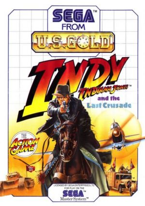 Indiana Jones and the Last Crusade for Master System