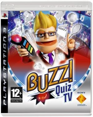 Buzz! Quiz TV (buzzers not included) [PlayStation 3] for PlayStation 3