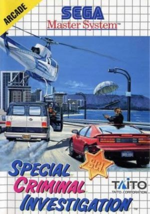 Special Criminal Investigation for Master System