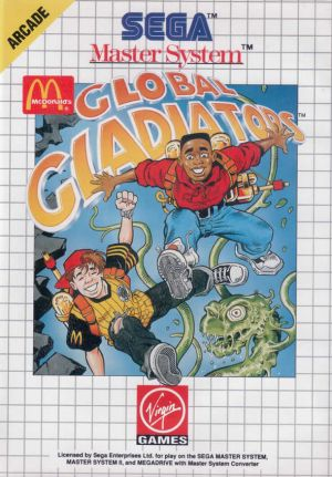 Global Gladiators for Master System