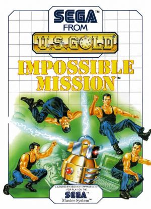 Impossible Mission for Master System