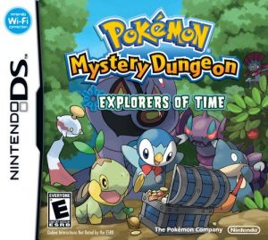 Pokémon Mystery Dungeon, Expl. Of Time for Nintendo DS