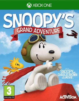 Peanuts Movie: Snoopy's Grand Adventure for Xbox One