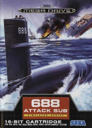 688 Attack Sub for Mega Drive