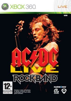 AC/DC Live: Rock Band Track Pack for Xbox 360