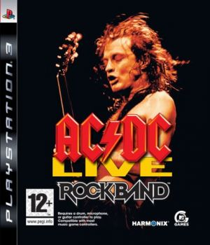 AC/DC Live: Rock Band Track Pack for PlayStation 3