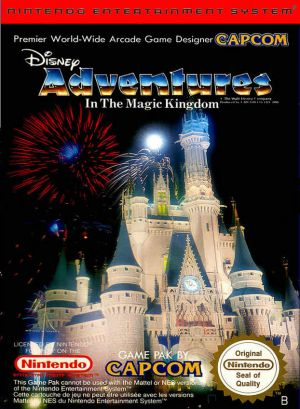 Adventures In The Magic Kingdom for NES