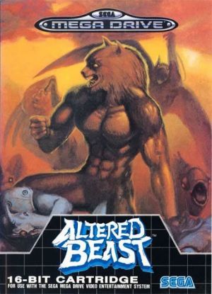 Altered Beast for Mega Drive