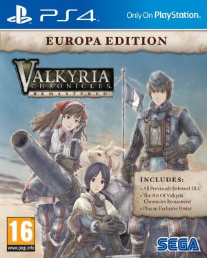 Valkyria Chronicles Remastered [Europa Edition] for PlayStation 4