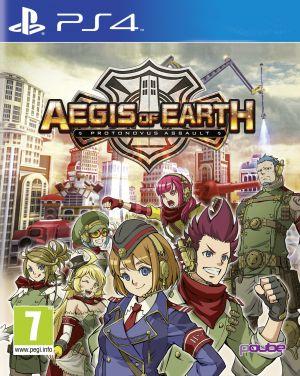 Aegis of Earth: Protonovus Assault for PlayStation 4