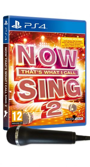 Now That's What I Call Sing 2 [with Microphone] for PlayStation 4