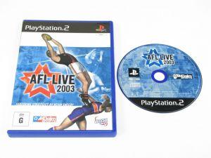 AFL Live 2003 for PlayStation 2