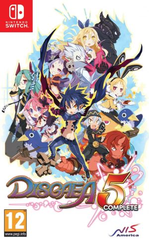 Disgaea 5 Complete for Nintendo Switch