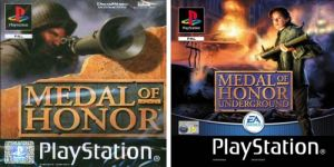 2 Games: Medal of Honor / Medal of Honor: Underground for PlayStation