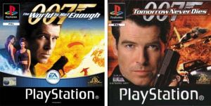 2 Games: 007: Tomorrow Never Dies / 007: The World is Not Enough for PlayStation