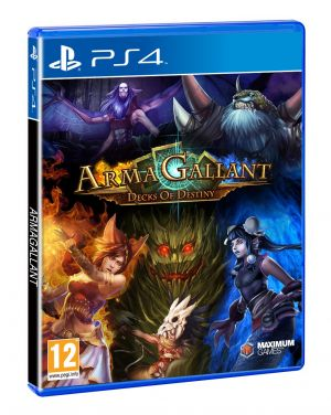 ArmaGallant: Decks of Destiny for PlayStation 4