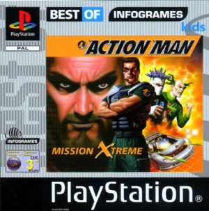 Action Man Mission Extreme [Best Of Infogrames] for PlayStation