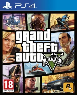 Grand Theft Auto V (PS4) for PlayStation 4