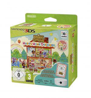 Animal Crossing: Happy Home Designer + amiibo Card + NFC Reader/Writer (Nintendo 3DS) for Nintendo 3DS