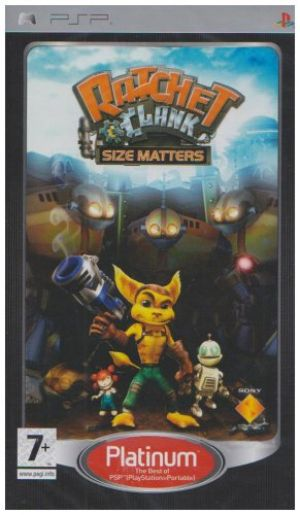 Ratchet & Clank: Size Matters - Platinum Edition (PSP) for Sony PSP