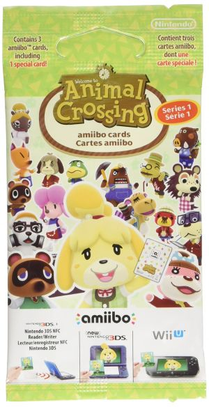 Animal Crossing: Happy Home Designer amiibo Cards Pack for Nintendo 3DS