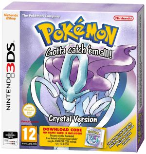 3DS Pokemon Crystal Packaged Download Code (Nintendo 3DS) for Nintendo 3DS
